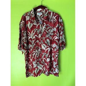Campia Moda Shirts - Campia Moda Button Down Floral Mens Top Sz XL